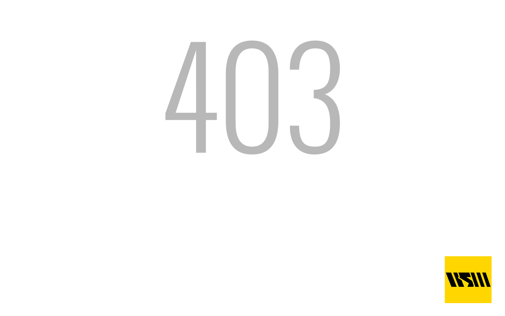 Error 403 (access denied)