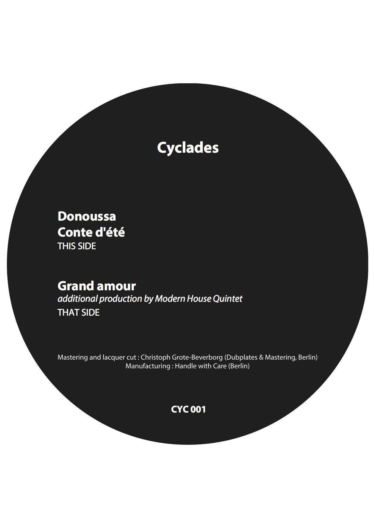 CYCLADES - DONUSSA