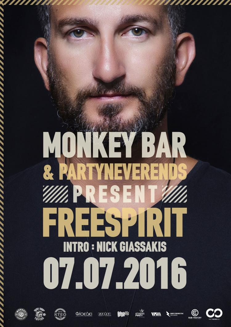 PartyNeverEnds presents Freespirit