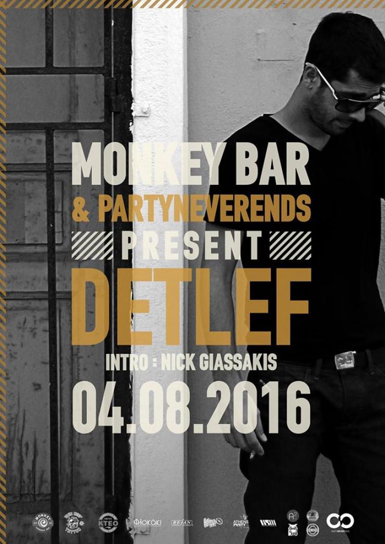 PartyNeverEnds presents Detlef