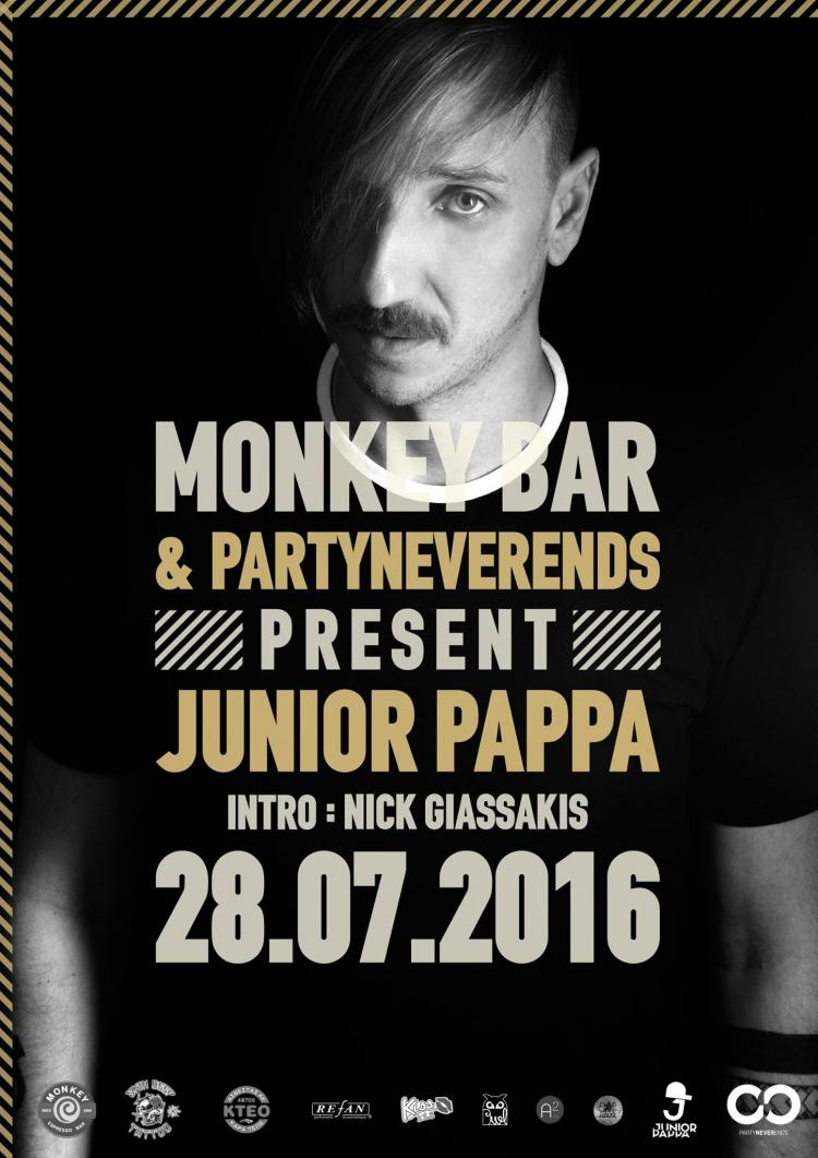 PartyNeverEnds presents Junior Pappa