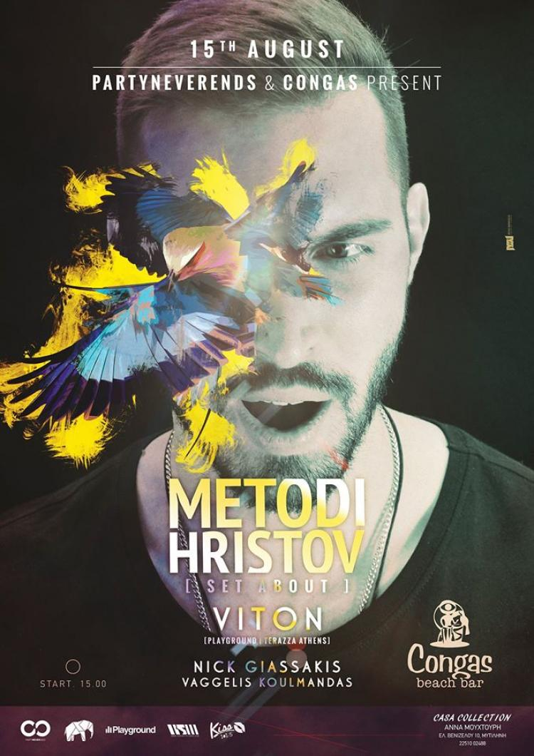 PartyNeverEnds presents Metodi Hristov & Viton