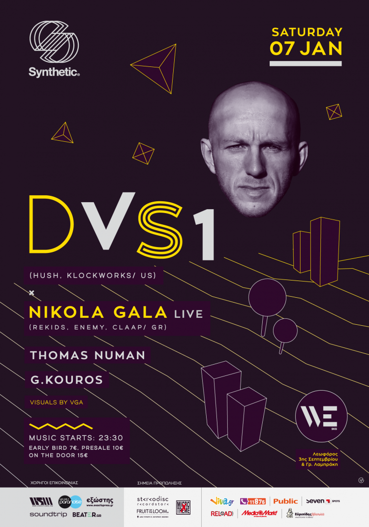 Synthetic w/ DVS1 (US) & Nikola Gala - live