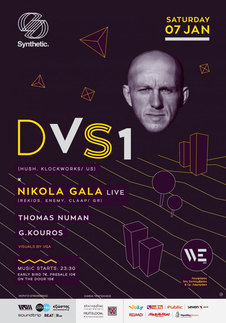 Synthetic w/ DVS1 (US) & Nikola Gala - live