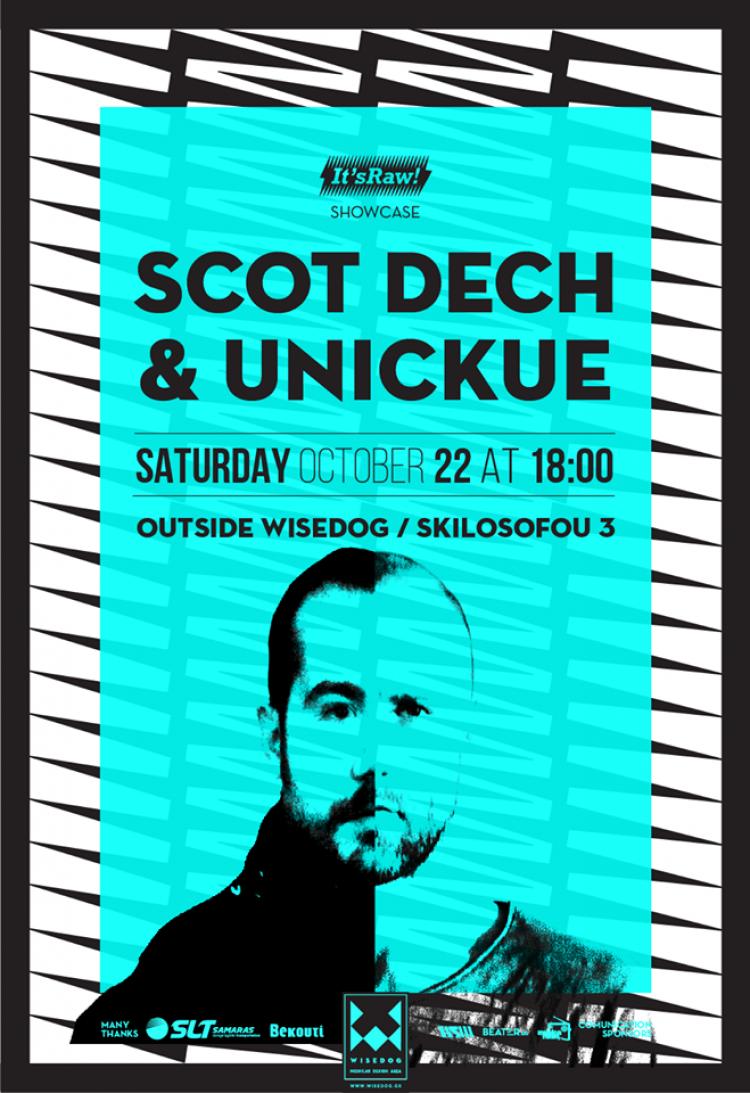 It'sRaw w/ Scot Dech & Unickue Outside Wisedog