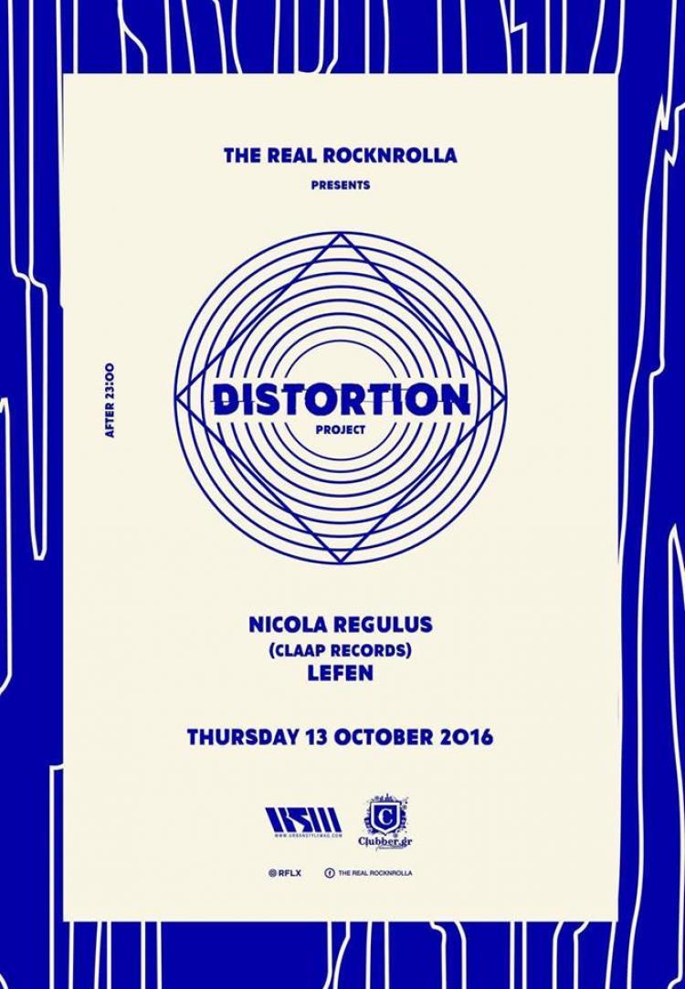 The Real Rocknrolla // Distortion w/ Nicola Regulus & Lefen