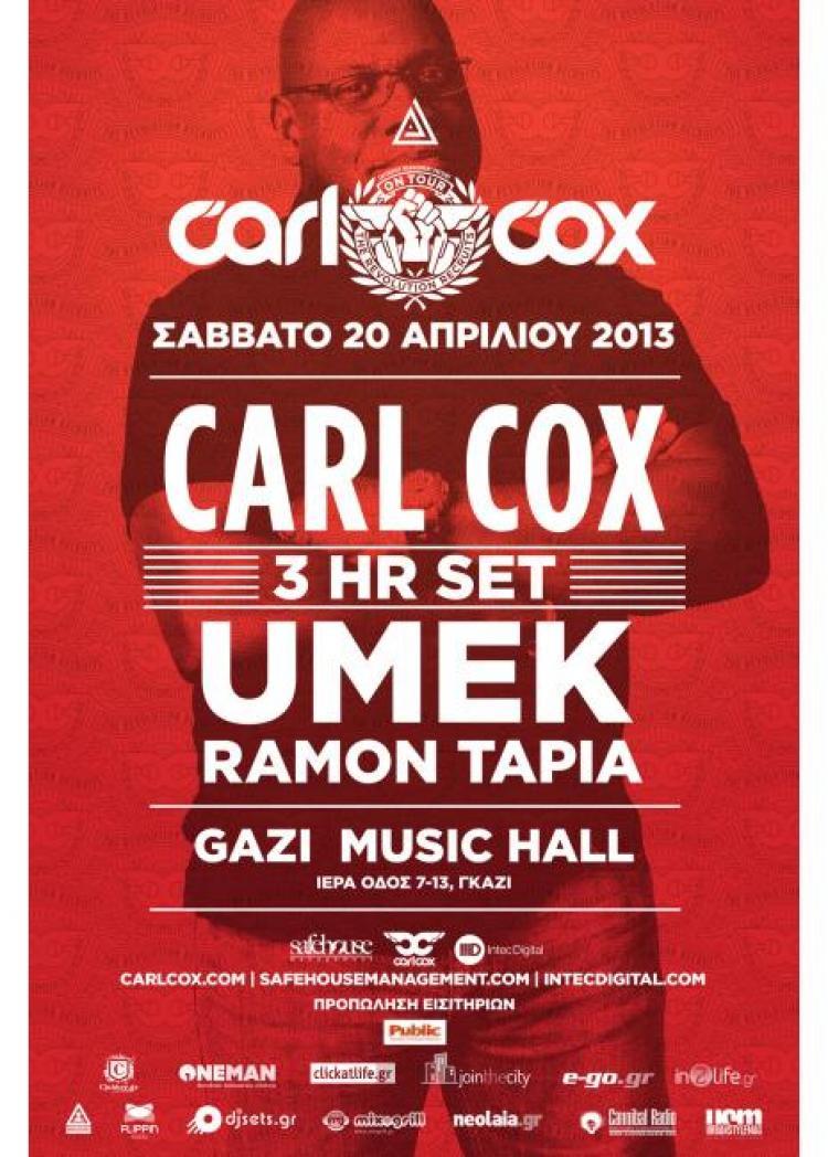 Carl Cox – The Revolution Recruits from Ibiza