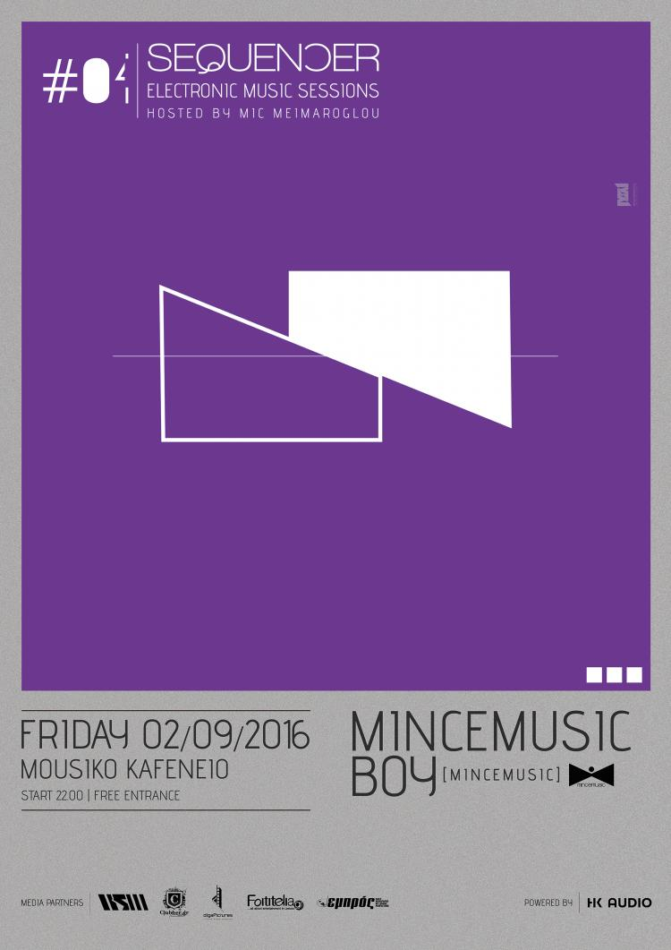 Sequencer presents MinceMusic Boy (aka Christof DS)