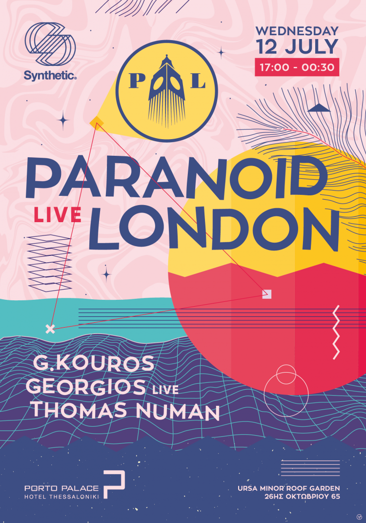 Synthetic presents Paranoid London Live