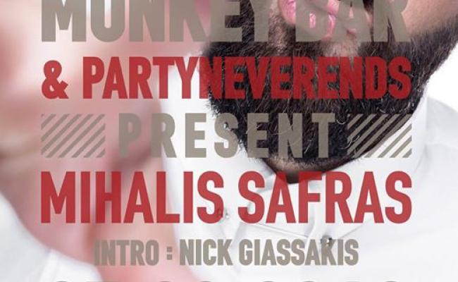 PartyNeverEnds presents Mihalis Safras