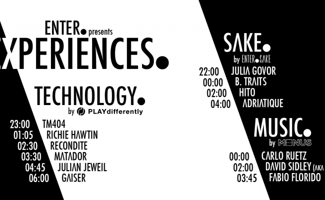 ADE OVERVIEW: MODEL 1 & ENTER.EXPERIENCES