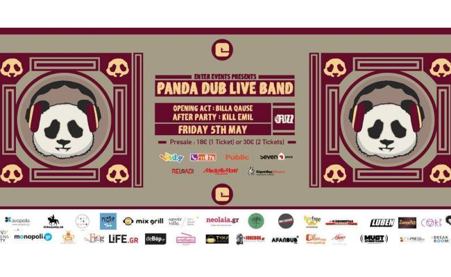 Panda Dub Live Band at Fuzz