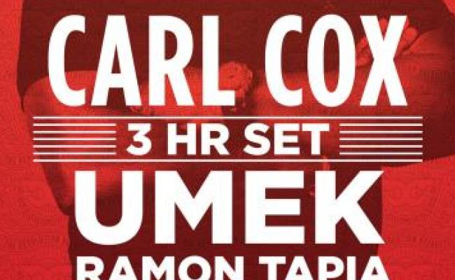 Carl Cox – The Revolution Recruits from Ibiza
