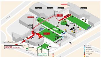 Sónar Festival Map