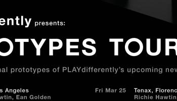 Prototypes tour, PLAYdifferently project by Richie Hawtin