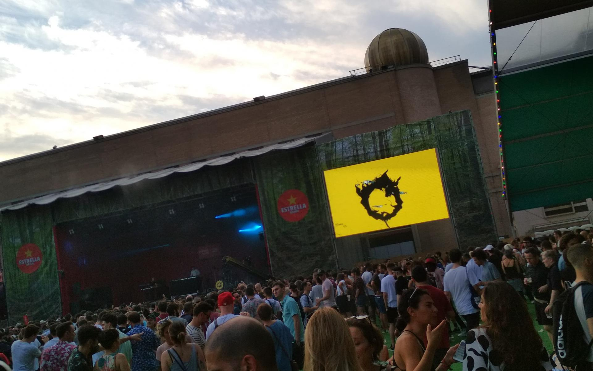 Raw view of Sónar Festival 2018