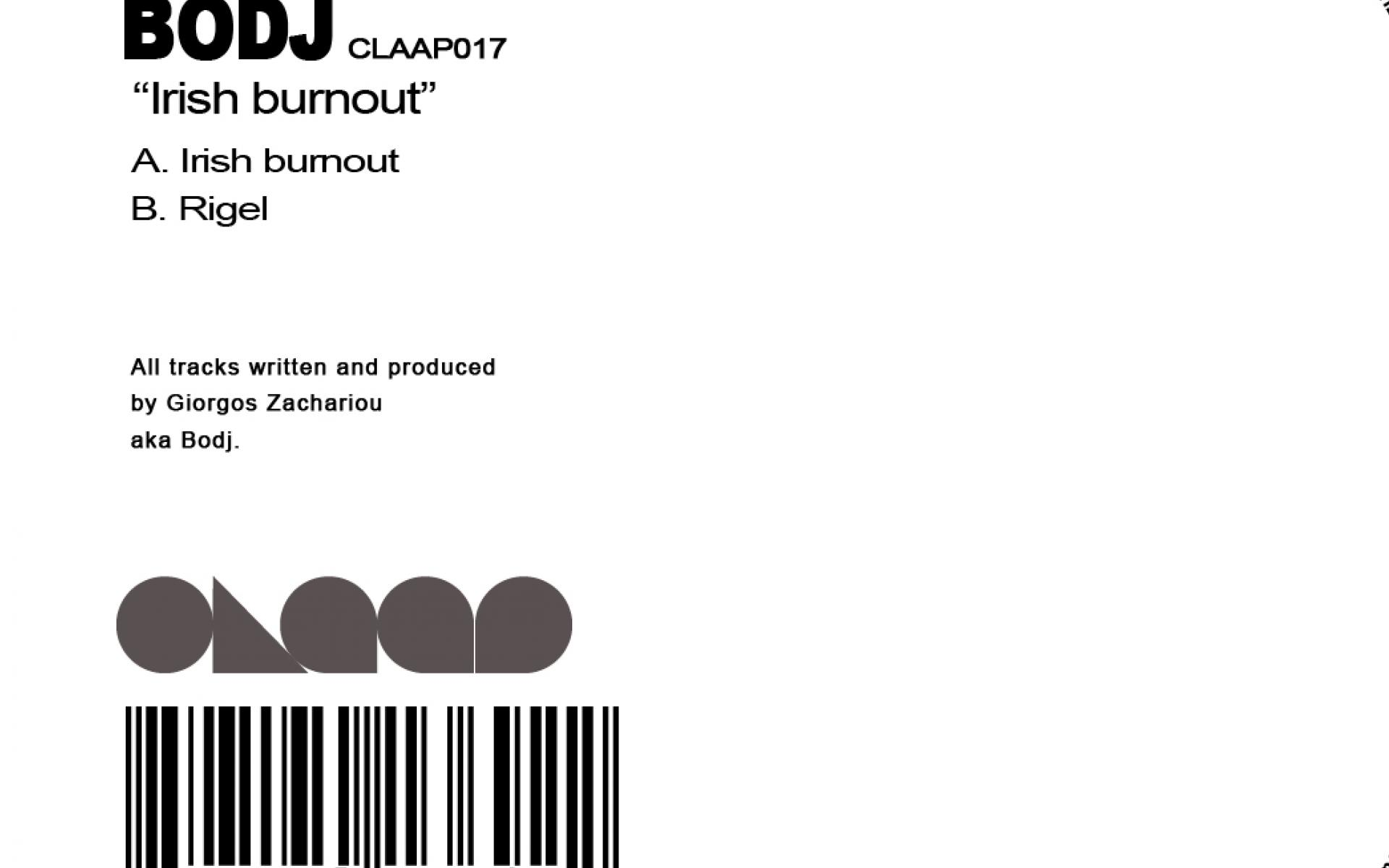 BODJ – IRISH BURNOUT
