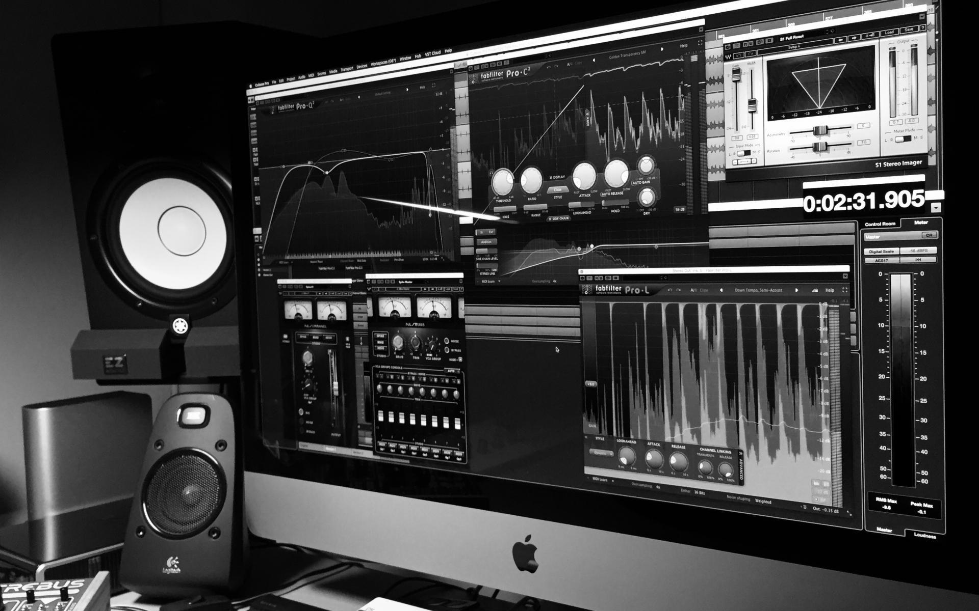 """Electronic Seikilos"", audio mastering process"