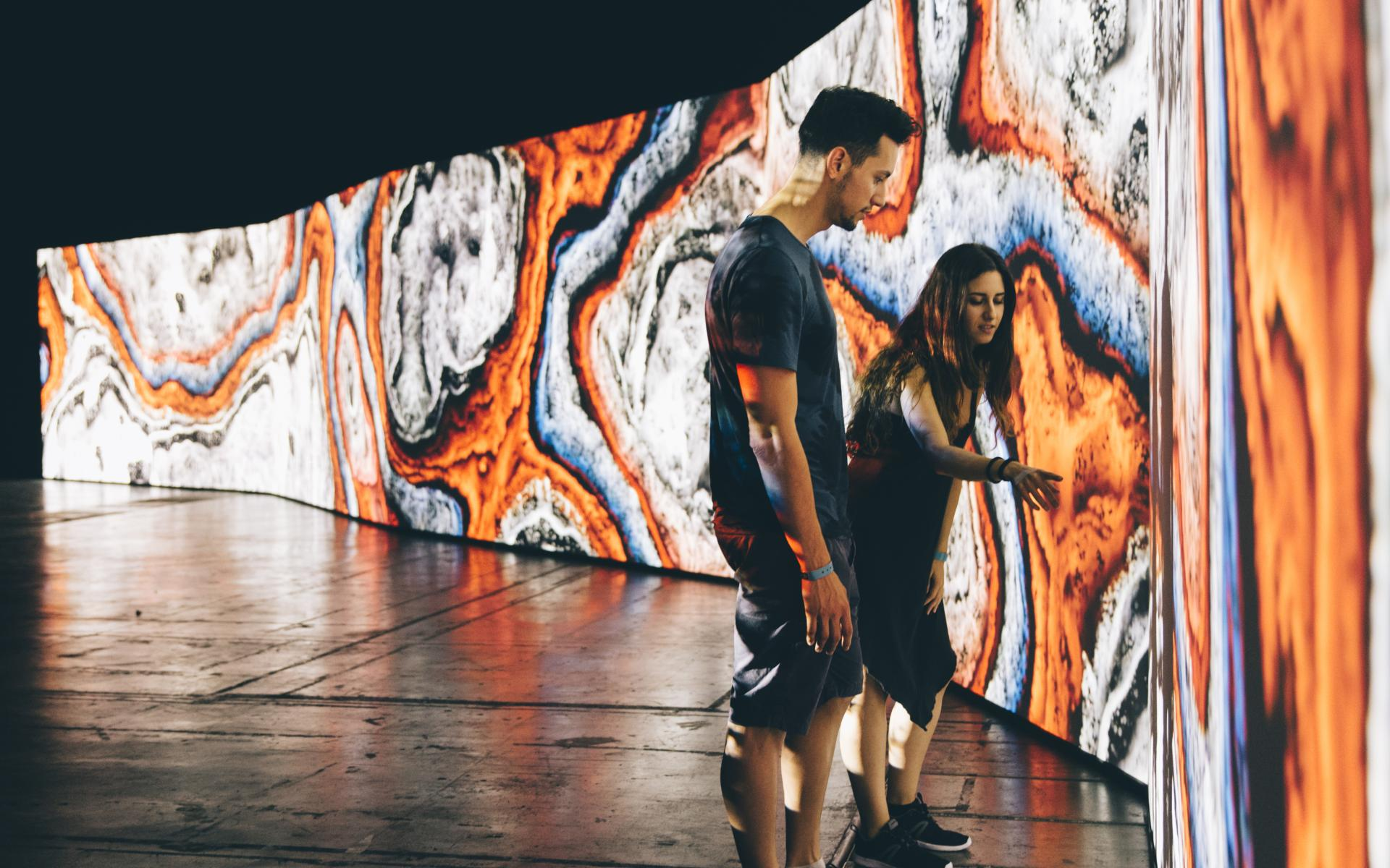 Sónar 2016 opens with the monumental new media art installation