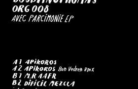 DOUBTINGTHOMAS – AVEC PARCIMONIE EP